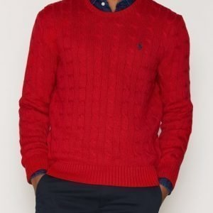 Polo Ralph Lauren Cabelknit Sweater Pusero Red