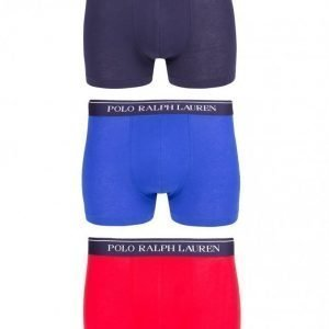 Polo Ralph Lauren Classic 3-Pack Trunk Bokserit Red
