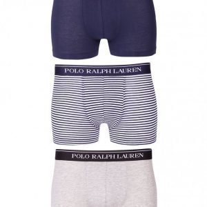 Polo Ralph Lauren Classic 3-Pack Trunk Bokserit navy/white
