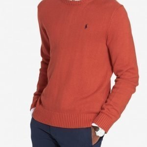 Polo Ralph Lauren Classic Cotton Sweater Pusero Oranssi