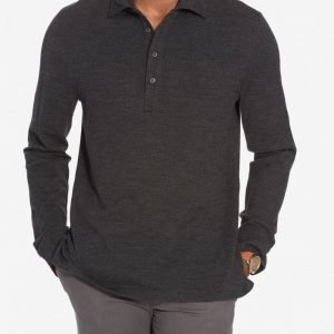 Polo Ralph Lauren Classic Long Sleeve Sweater Pikeepaita Granite