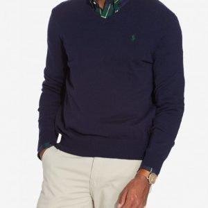 Polo Ralph Lauren Classic Merino Knit Pusero Navy