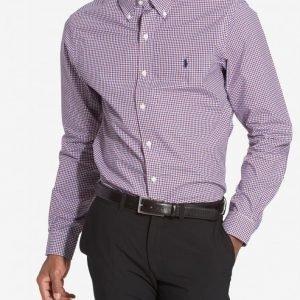 Polo Ralph Lauren Classic Poplin Slim Fit Shirt Kauluspaita Sininen/punainen