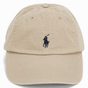 Polo Ralph Lauren Classic Sport Cap Lippis Beige