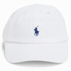 Polo Ralph Lauren Classic Sport Cap Lippis White