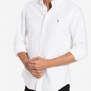 Polo Ralph Lauren Core Fit Oxford Shirt Kauluspaita White