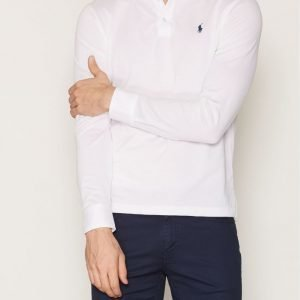 Polo Ralph Lauren Cotton Polo Pikè Pikeepaita White