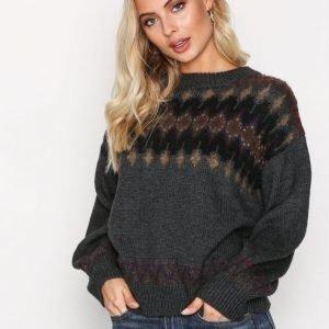 Polo Ralph Lauren Crew Neck Long Sleeve Sweater Neulepusero Grey