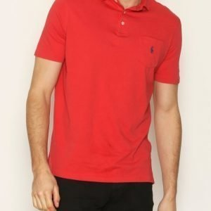 Polo Ralph Lauren DM1 SS Jersey Pikeepaita Red