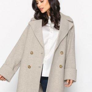Polo Ralph Lauren Doubleface Wool Coat Pitkä Takki Grey