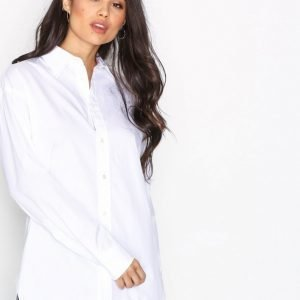 Polo Ralph Lauren Ellen Ls Shirt Kauluspaita White