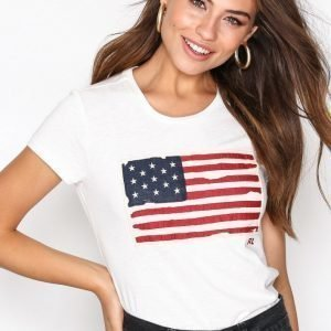 Polo Ralph Lauren Flag Tee Short Sleeve T-Paita Nevis