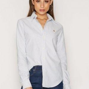 Polo Ralph Lauren Harper Long Sleeve Shirt Kauluspaita Sininen / Valkoinen