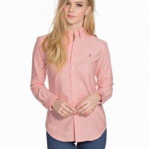 Polo Ralph Lauren Harper Long Sleeve Shirt Kauluspaita Vaaleanpunainen
