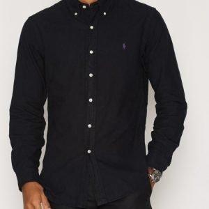 Polo Ralph Lauren Harvard Slim Fit Shirt Kauluspaita Black