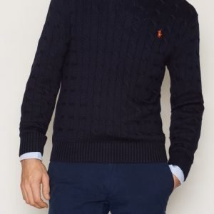 Polo Ralph Lauren LS Cable Cotton Sweater Pusero Navy