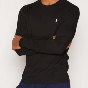Polo Ralph Lauren Long Sleeve Crew Loungewear Musta