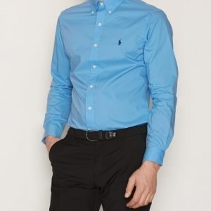 Polo Ralph Lauren Long Sleeve Poplin Shirt Kauluspaita Blue