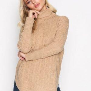 Polo Ralph Lauren Long Sleeve Sweater Poolopusero Camel