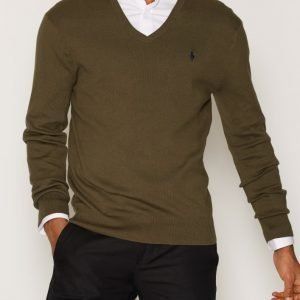 Polo Ralph Lauren Long Sleeve Sweater Pusero Olive