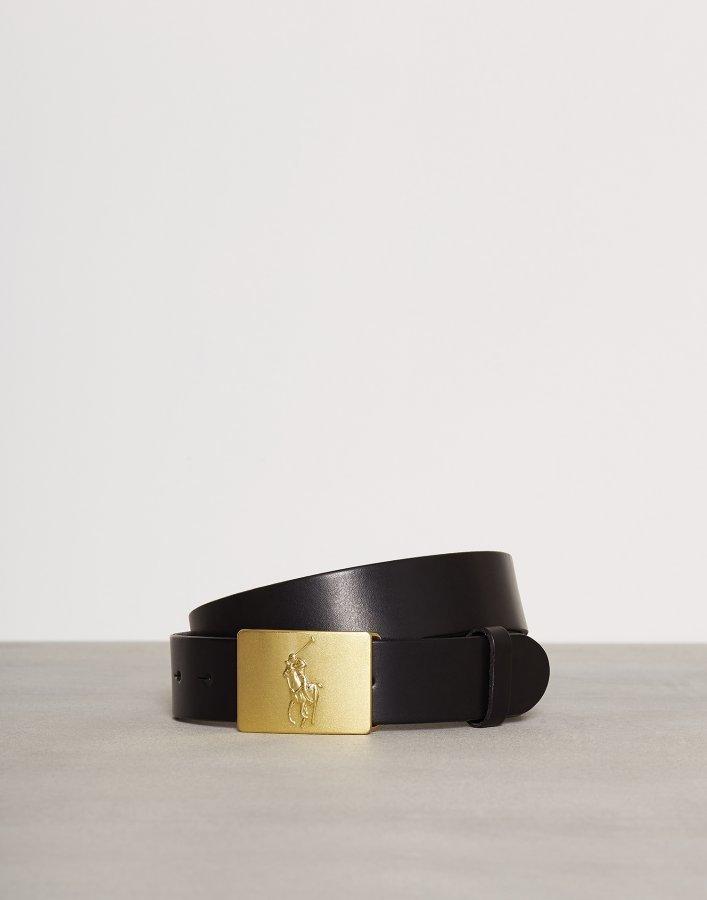 Polo Ralph Lauren Player Plaque Belt Vyö Black - Vaatekauppa24.fi 03d332f3a8