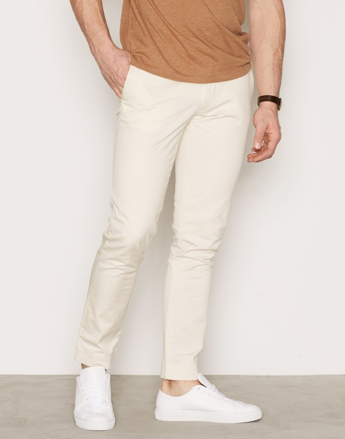 Polo Ralph Lauren Polo Flat Pant Housut Cream