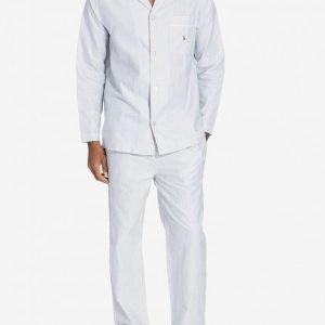 Polo Ralph Lauren Pyjama Set Long Pyjamasetti Oxford Blue