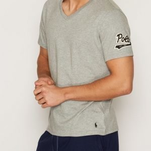 Polo Ralph Lauren S/S V-Neck Sleep Top Loungewear Grey