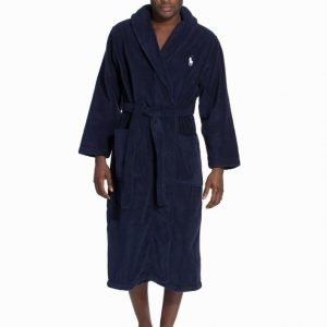Polo Ralph Lauren Shawl Collor Robe Kylpytakki Navy