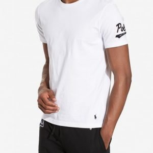 Polo Ralph Lauren Short Sleeve Crew Loungewear White