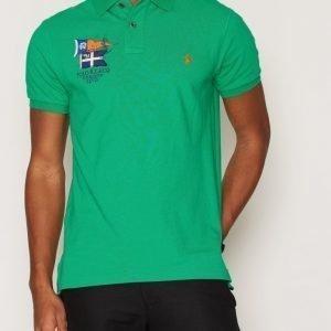 Polo Ralph Lauren Short Sleeve Knit Pikeepaita Green