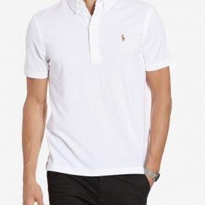 Polo Ralph Lauren Short Sleeve Oxford Pique Pikeepaita White