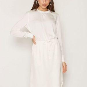 Polo Ralph Lauren Silk Skirt Midihame Marshmallow