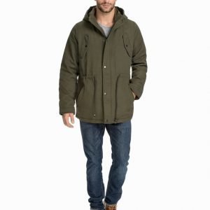 Predicted Basic Parka Takki Military Green