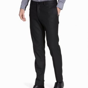 Premium by Jack & Jones Jjroy Trousers Black Noos Puvunhousut Musta