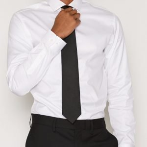 Premium by Jack & Jones Jprandrew Shirt L/S Noos Reg Fit Kauluspaita Valkoinen