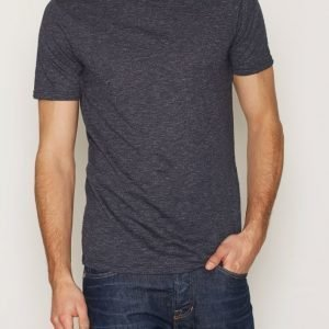 Premium by Jack & Jones Jprandrew Tee Ss Crew Neck T-paita Tummansininen