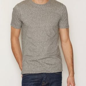 Premium by Jack & Jones Jprandrew Tee Ss Crew Neck T-paita Vaaleanharmaa