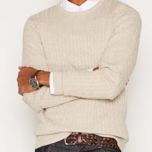 Premium by Jack & Jones Jprcarlson Knit Crew Neck Pusero Harmaa