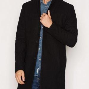 Premium by Jack & Jones Jprchristian Wool Coat Takki Musta