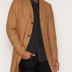 Premium by Jack & Jones Jprchristian Wool Coat Takki Vaaleanruskea