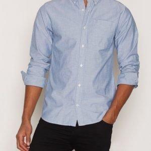 Premium by Jack & Jones Jprclassic Shirt L/S Noos Kauluspaita Sininen