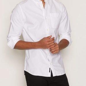 Premium by Jack & Jones Jprclassic Shirt L/S Noos Kauluspaita Valkoinen