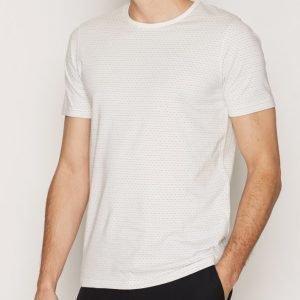 Premium by Jack & Jones Jprconor Tee Ss Crew Neck T-paita Valkoinen