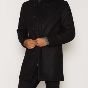 Premium by Jack & Jones Jprgotham Wool Coat Noos Villakangastakki Musta