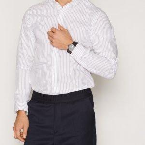 Premium by Jack & Jones Jprharris Shirt L/S Plain Kauluspaita Valkoinen