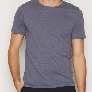 Premium by Jack & Jones Jprleaf Tee Ss Crew Neck Slim T-paita Tummanvioletti