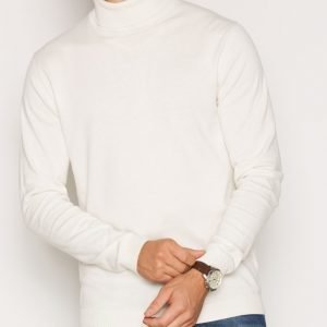 Premium by Jack & Jones Jprlucas Knit Roll Neck Pusero Offwhite
