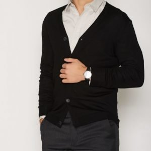 Premium by Jack & Jones Jprmark Knit Cardigan Noos Pusero Musta