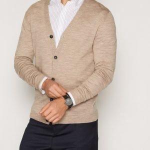Premium by Jack & Jones Jprmark Knit Cardigan Noos Pusero Vaaleanruskea